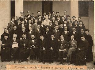 La foto del primo convegno ex allievi - Correva l'anno 1920