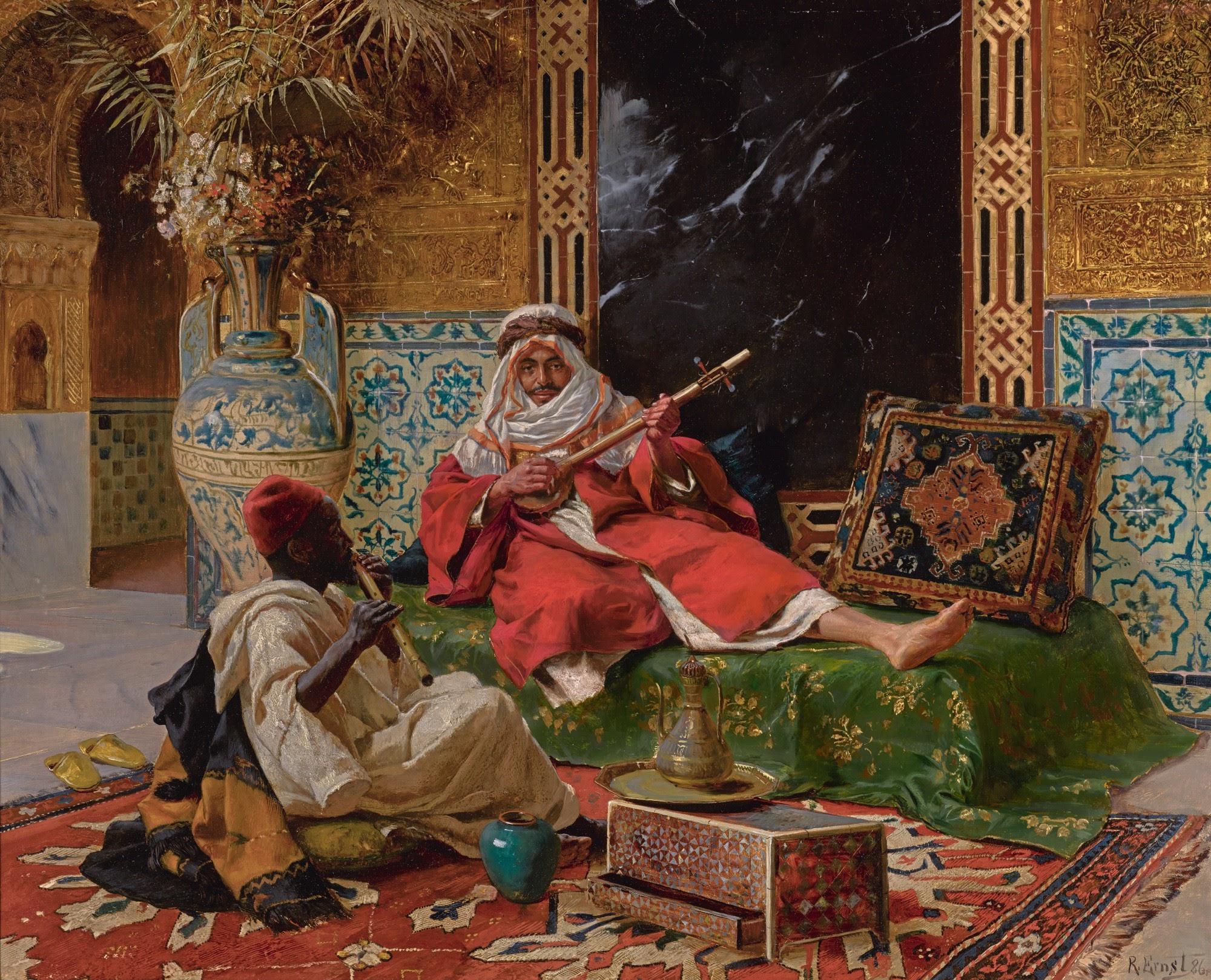 Rudolf Ernst The Musicians