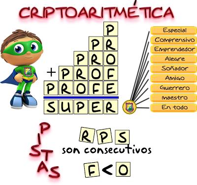Criptoaritmética, Criptoaritmetica, Alfamética, Criptosumas, Criptogramas, Criptoaritmética con solución, Juego de letras, Cuánto vale cada letra
