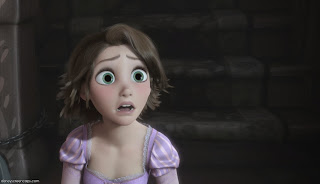 Rapunzel short brown hair