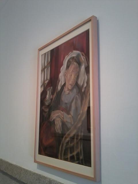 María Blanchard, Museo Reina Sofía, Cubismo, Pintura figurativa, La convaleciente,