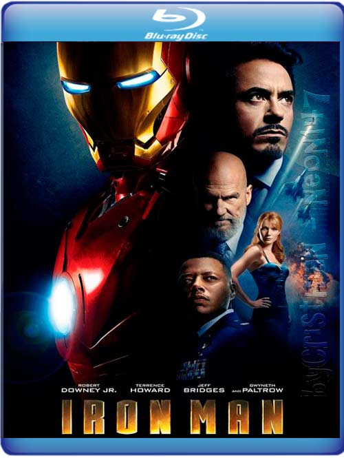 Iron Man (Español Latino) (BRrip) (Audio AC3) (2011)