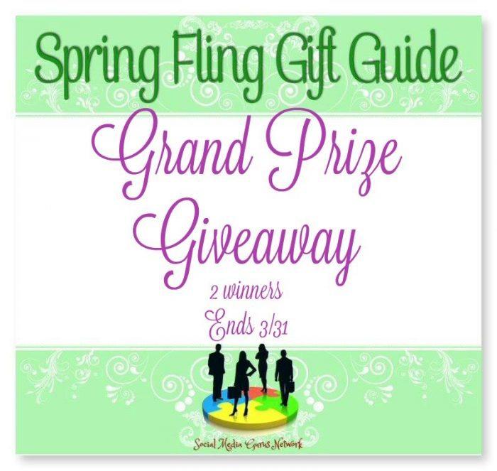 Spring Fling Grand Prize Giveaway