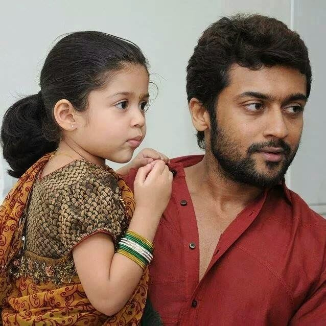 Surya Jyothika dughter Diya and son Rare and unseen PIcs