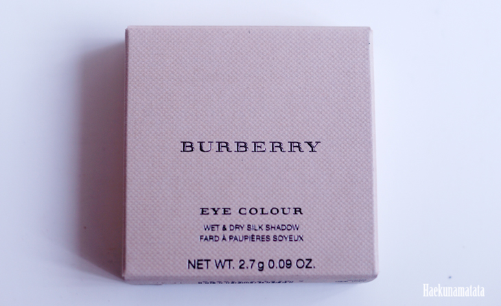Burberry Eyeshadow in Pale Barley Review and Swatch