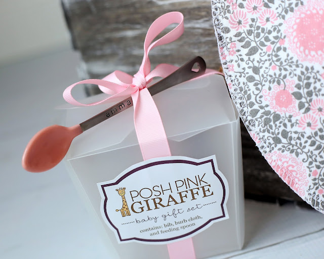 Baby Gift Sets by Posh Pink Giraffe
