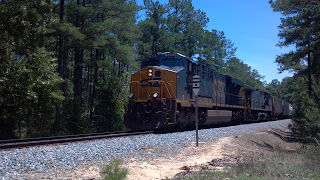csx freight train going through pinehurst north carolina