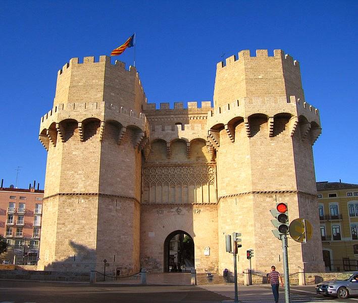 Torres Serranos Valencia
