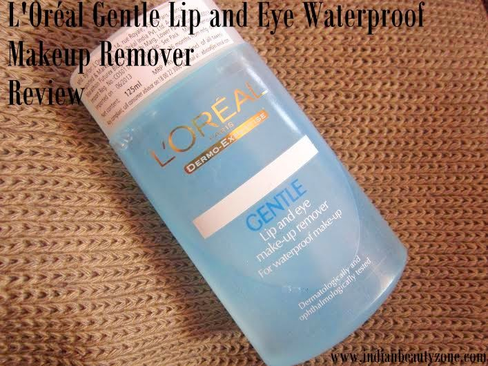 L'Oréal Gentle Lip and Eye Waterproof Makeup Remover Review