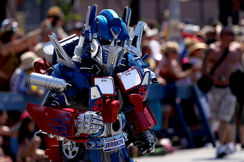 prime costume optimus
