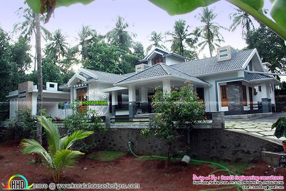 Finished house at Thamarassery