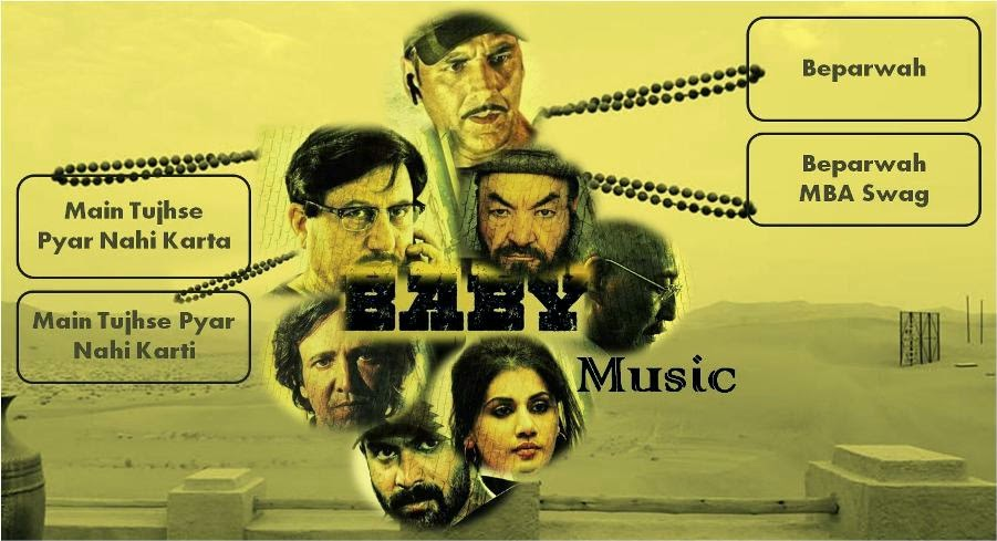 Akshay Kumar starer Bollywood movie Baby songs and music review