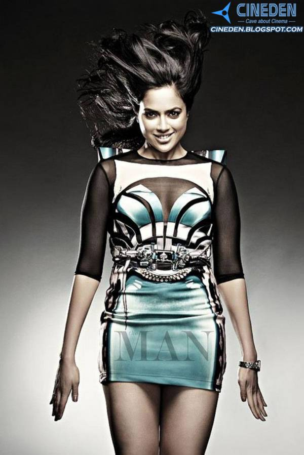 Bollywood actress Sameera Reddy on The Man Magazine April 2011