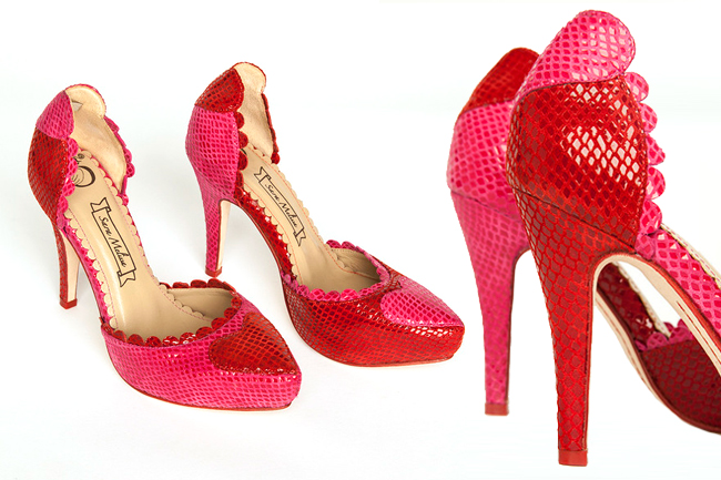 Sara Melissa Designs, heart shoes, high heels