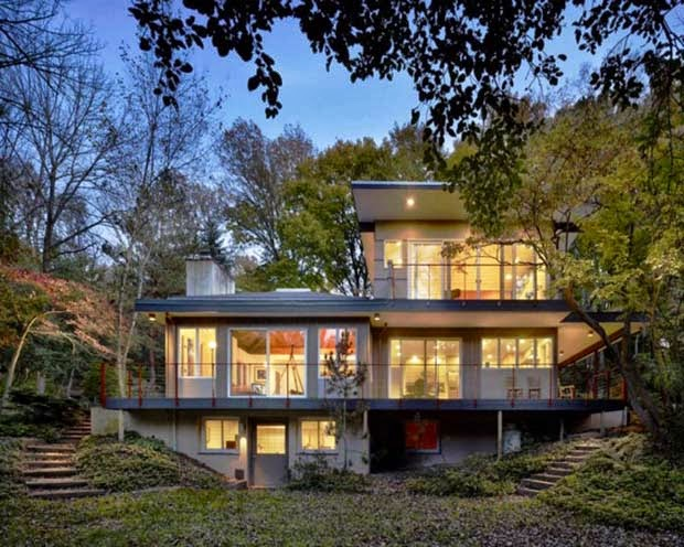 Mid Century Modern Homes on Midcentury House Design