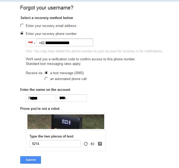 Cara Mengatasi Lupa Email Login Diblog