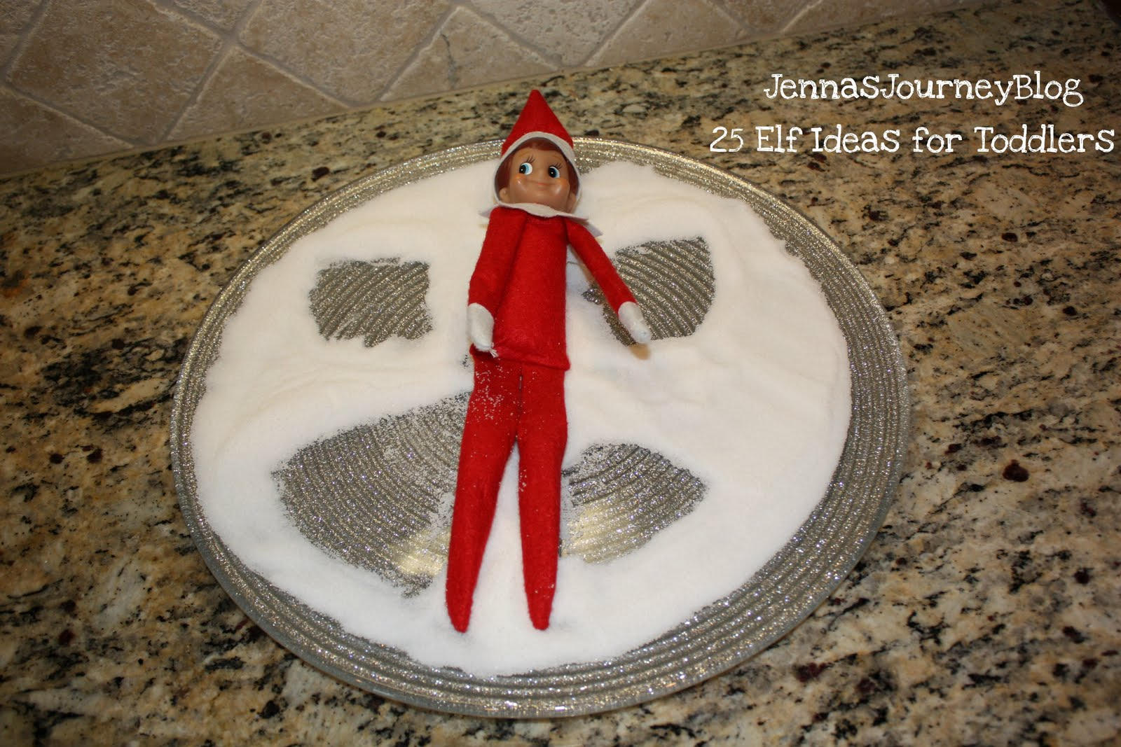 Jenna Blogs 25 Elf On The Shelf Ideas For TODDLERS