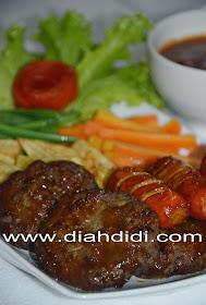 diah didi s kitchen steak daging cincang amp sosis