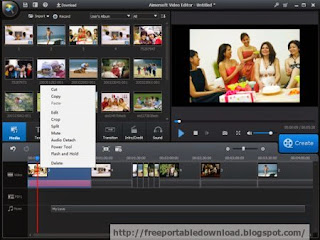 Aimersoft Video Editor is video editing program