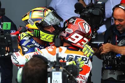 Marquez: Saya Ingin Segera Berjabat Tangan dengan Rossi