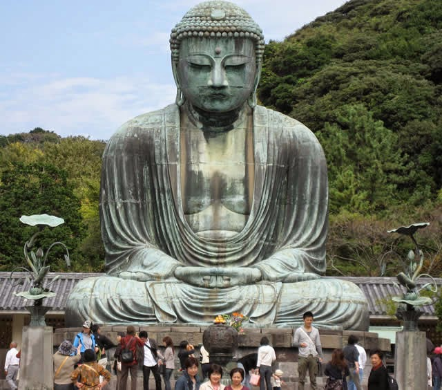 Buda gigante de Kamakura (Great Buddha of Kamakura) - Kamakura, Japão