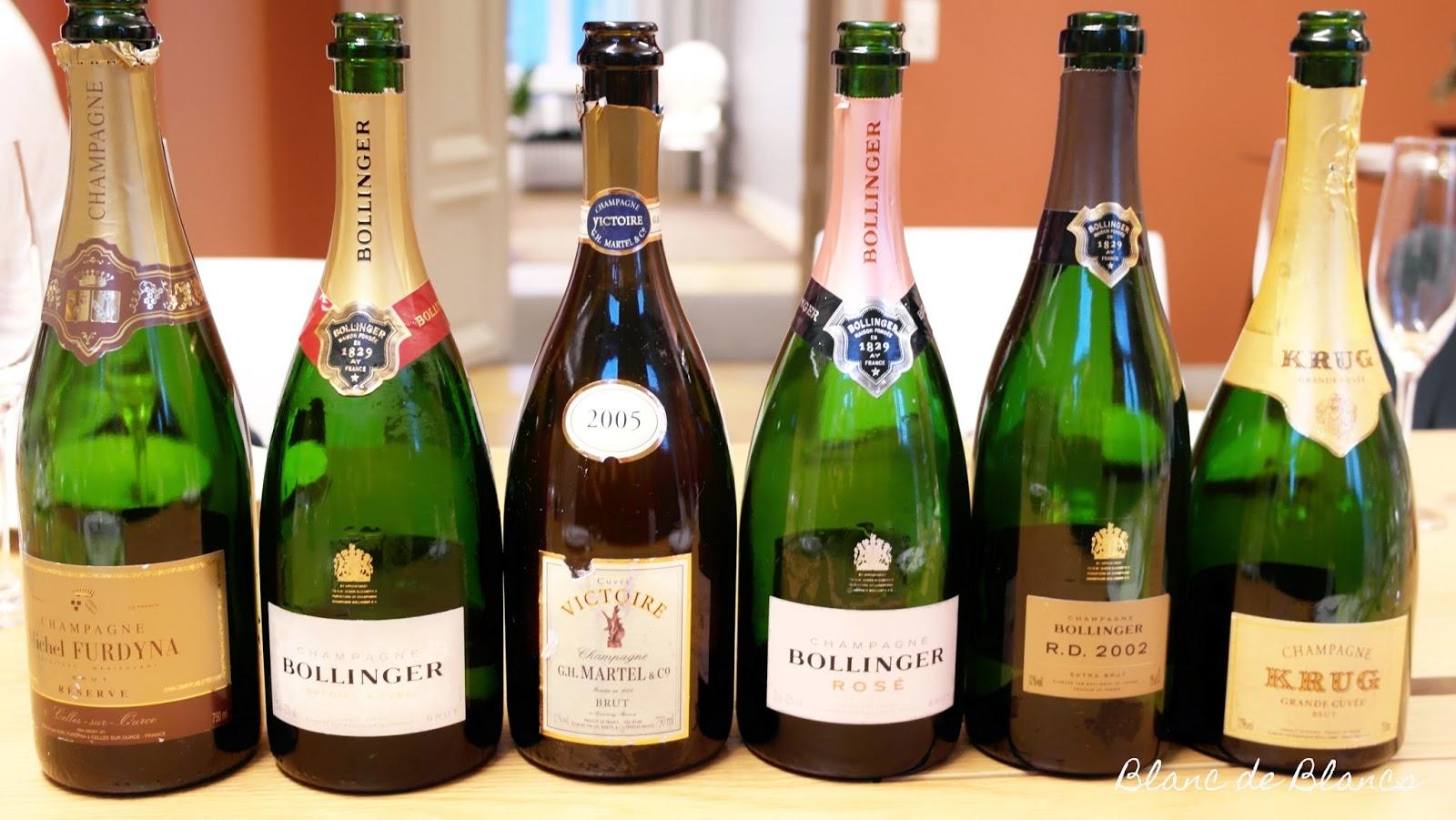 Samppanjatasting - www.blancdeblancs.fi