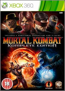 Modelo Capa Download   Mortal Kombat Komplete Edition   XBOX360 (2012)