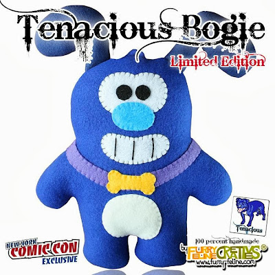 New York Comic-Con 2013 Exclusive Tenacious Bogie Plush Figure by Furry Feline Creatives