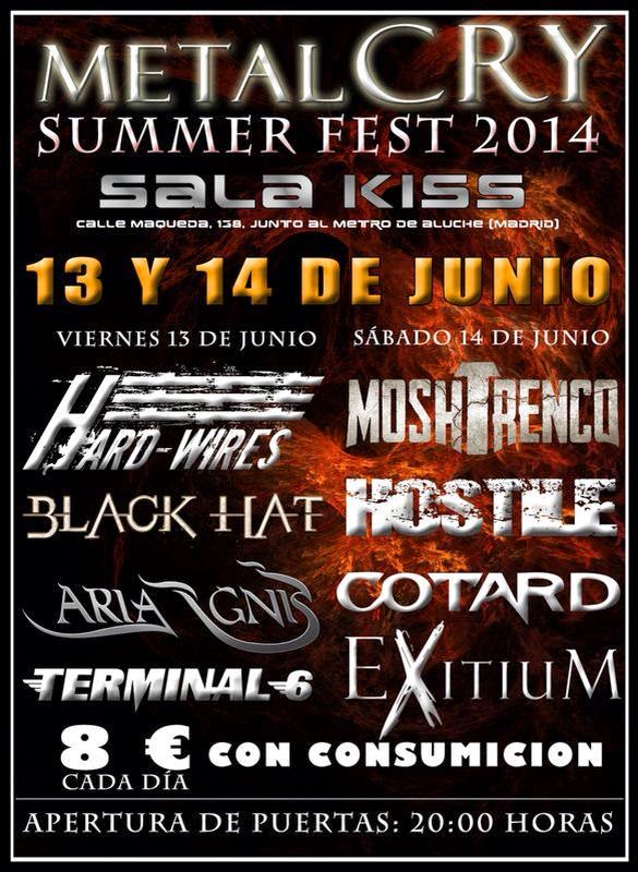 METALCRY SUMMER FEST