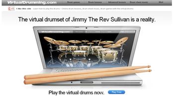 clases de bateria online y gratis con Virtual Drumming - www.dominioblogger.com