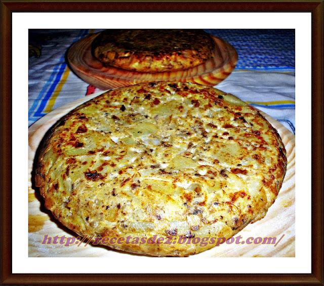 Tortilla Morcillona