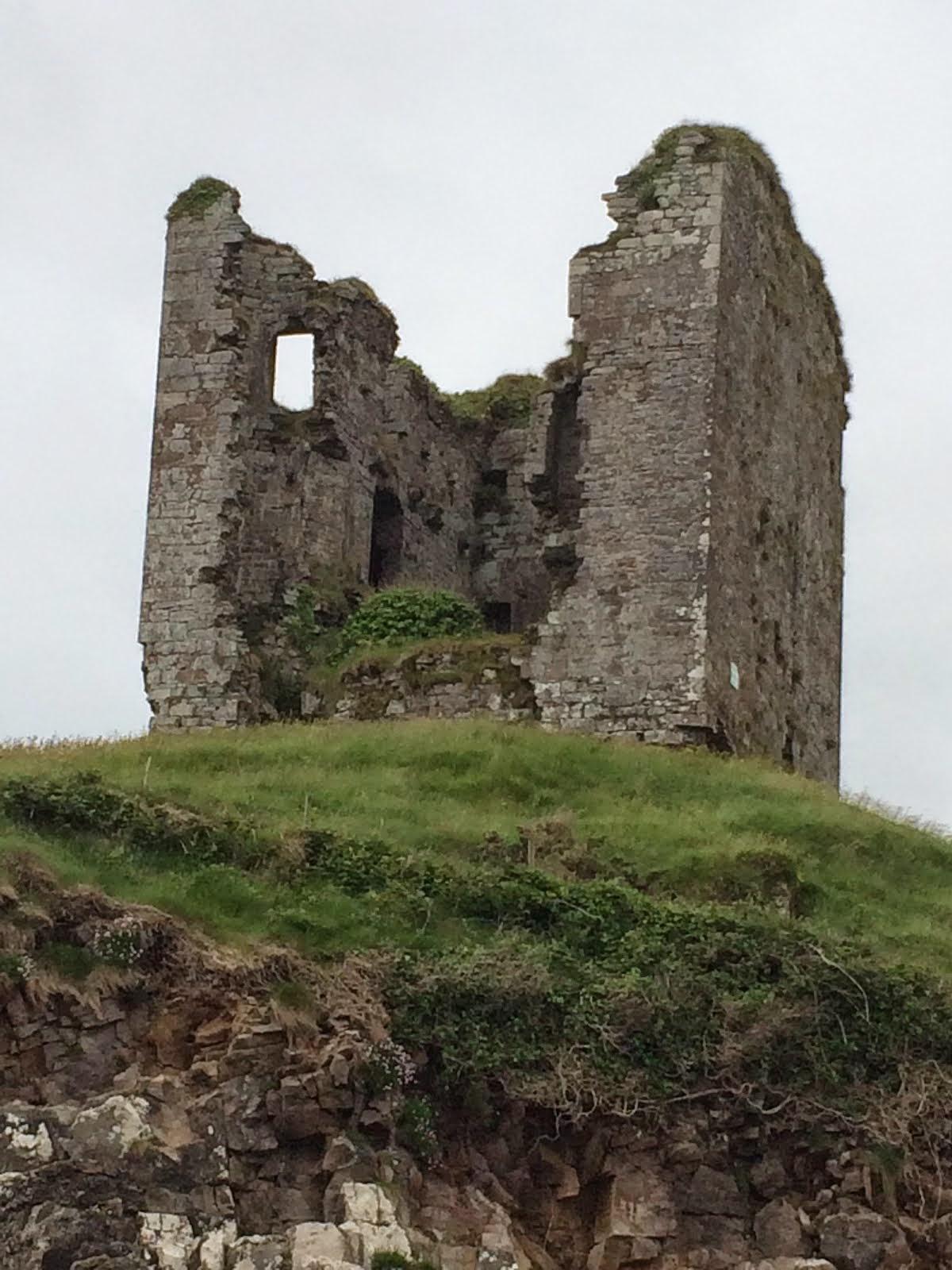 Ireland's Minard Castle