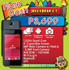 Cherry Mobile Flare Dash Available Soon For Php3,699