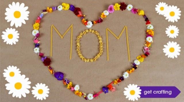 Χειροποίητες κατασκευεές για την Γιορτή της Μητέρας