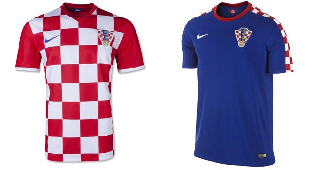 Camisetas selección Croacia Mundial 2014