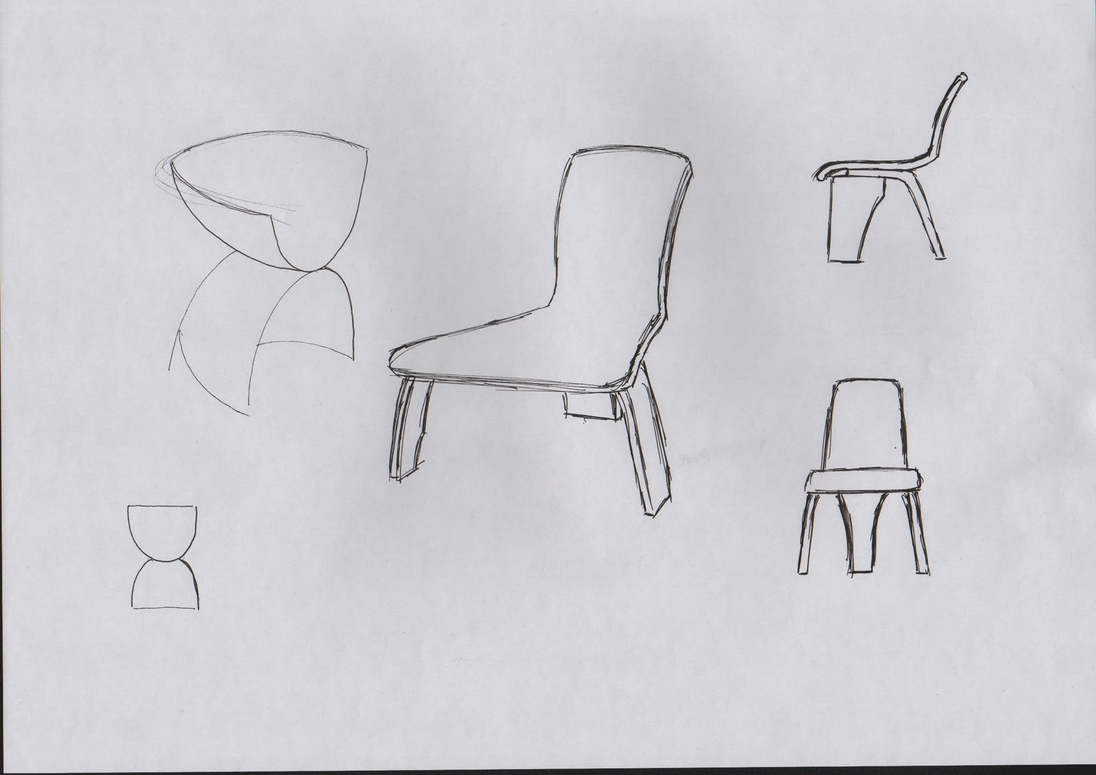 Furniture design blog chair drawings and process for Chair design drawing