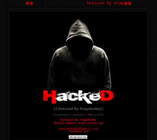 Deface, hacked