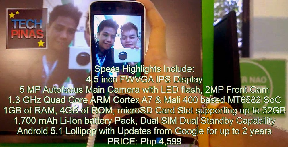MyPhone Uno, Android One Philippines
