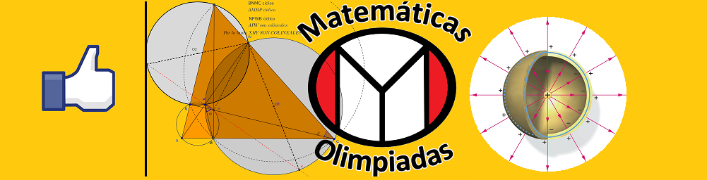 Si hacemos lo correcto dale un me gusta a Matemáticas y olimpiadas