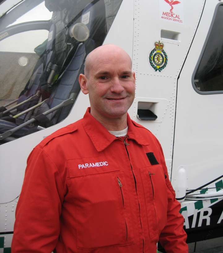 Fitted In Sussex Surrey And Kent: Kent, Surrey & Sussex Air Ambulance: Paramedic Nominated
