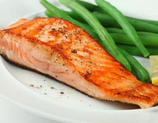 Salmon buena comida para los diabeticos
