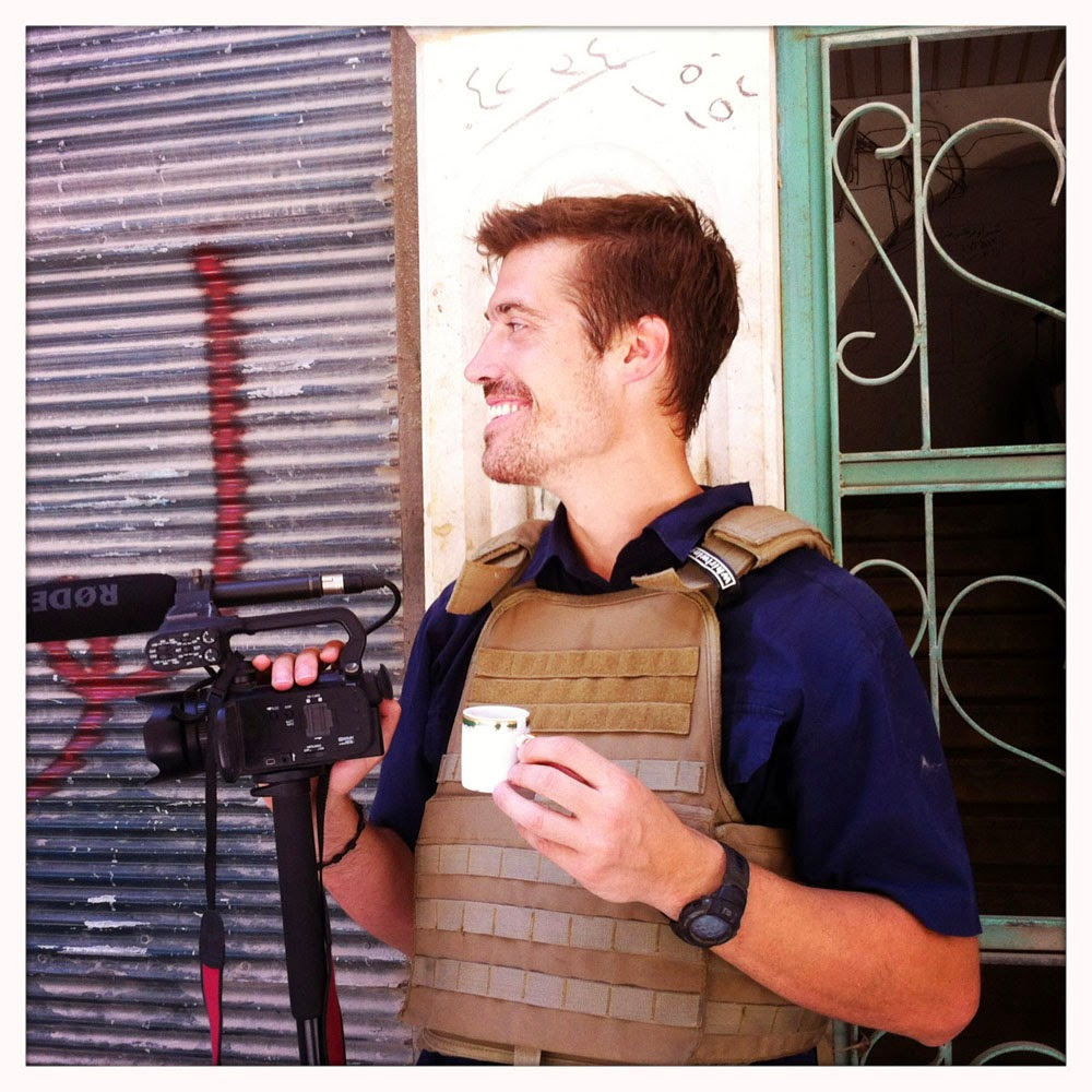 James Foley In Aleppo, Syria In July 2012,