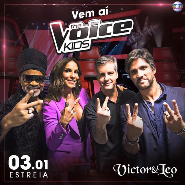 Victor & Leo no The Voice Kids
