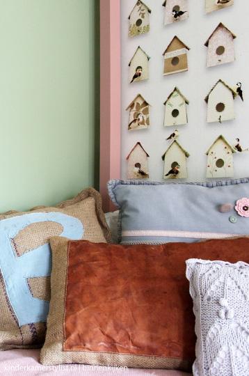 Deconi os una habitaci n con alma campestre ministry of for Pintura verde aguamarina