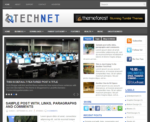 TechNet Blogger Theme