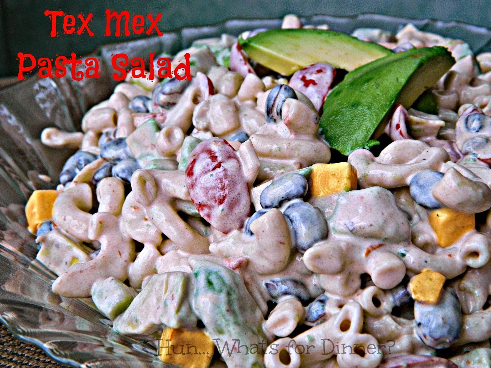 http://www.hunwhatsfordinner.com/2014/06/tex-mex-pasta-salad.html