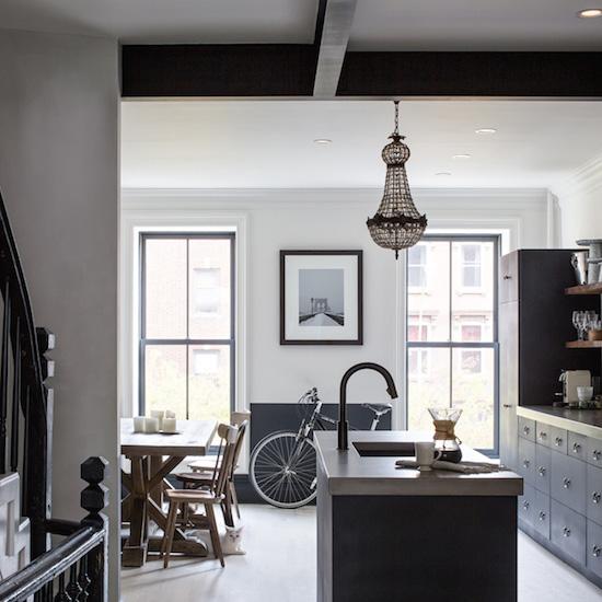 Home Tour Brooklyn Apartment: The Zhush: Home Tour: Brooklyn Brownstone