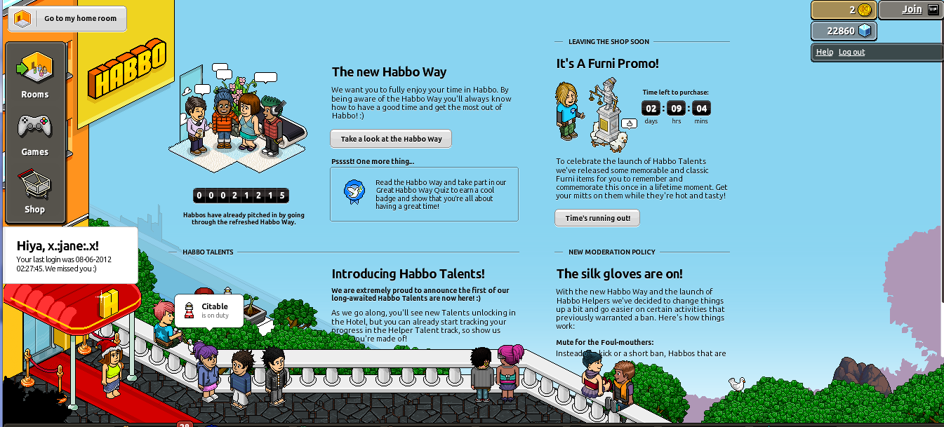 how to become a habbo helper