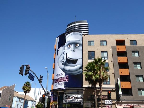 Frankenstein Hotel Transylvania 2 film billboard