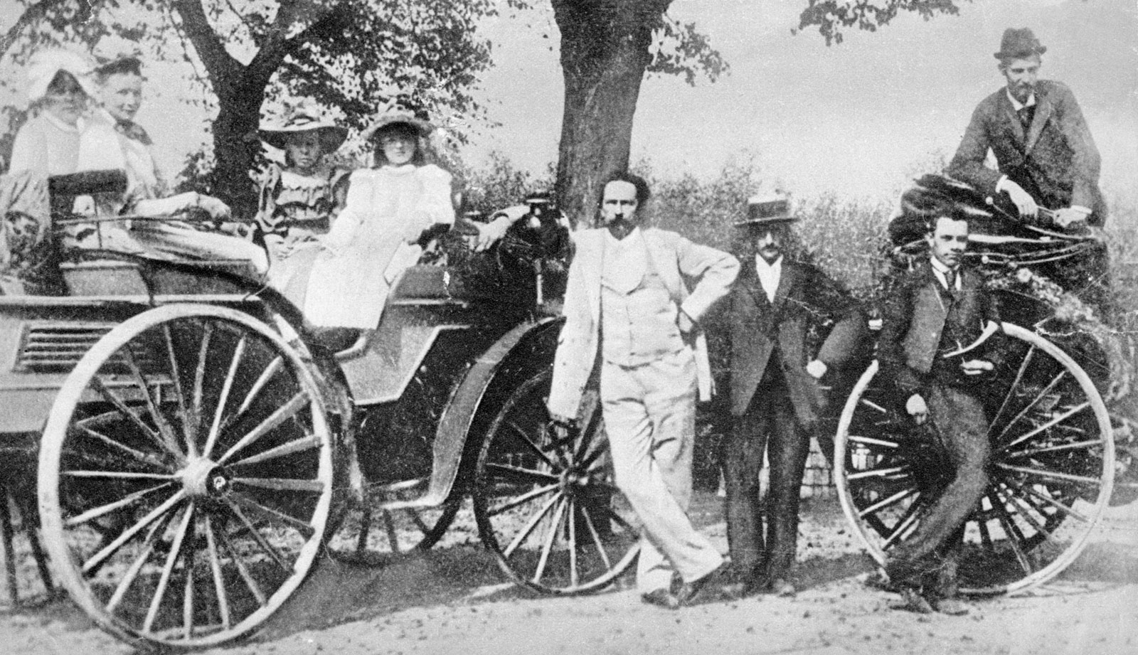 Early auto engineer and inventor, Karl Benz ~